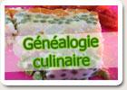 Généalogie culinaire